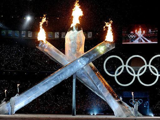 Das Olympische Feuer ist entzündet