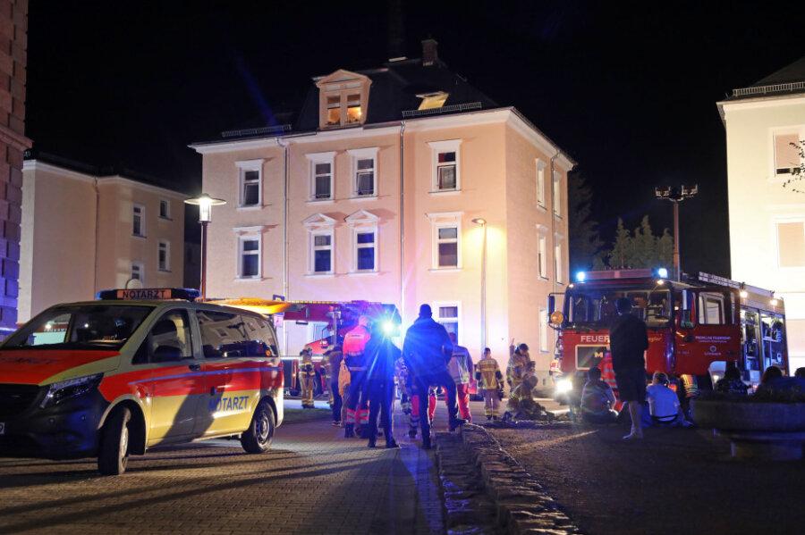 Kellerbrand in Limbach-Oberfrohna: Polizei ermittelt wegen Brandstiftung