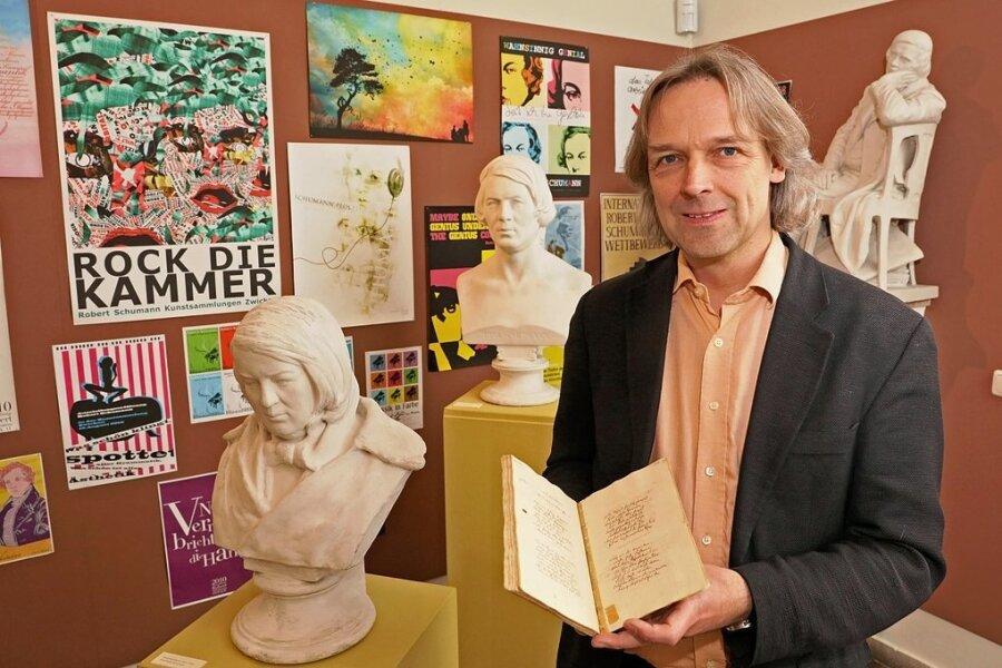 Museumschef Thomas Synofzik bekommt Zwickauer Robert-Schumann-Preis