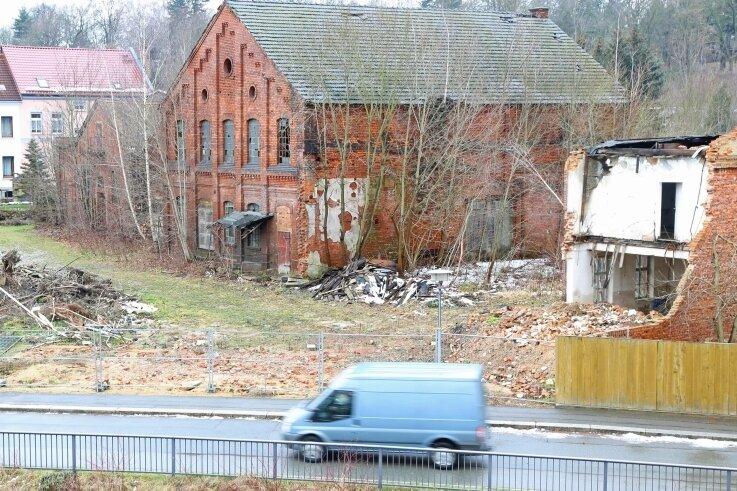 Jahrelang bestimmte die Ruine des ehemaligen Gaswerkes das Bild an der Mühlenstraße in Werdau.