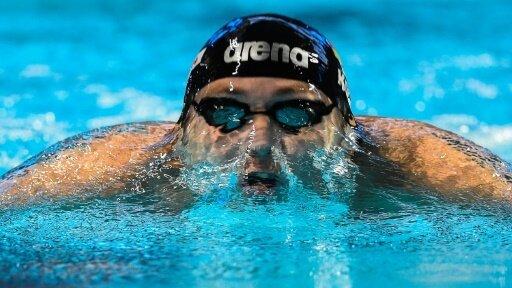 Henning Mühlleitner holt über 400 m Freistil Bronze
