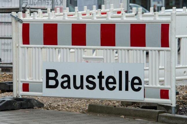 Vollsperrung: Zweiter Abschnitt von B 95 in Annaberg wird saniert