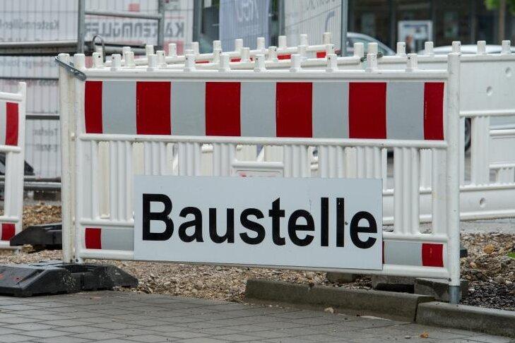 Meinsdorfer Straße in Limbach-Oberfrohna ab Dienstag gesperrt