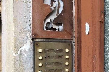 Gustav-Freytag-Straße 2: Hier wohnt längst keiner mehr.