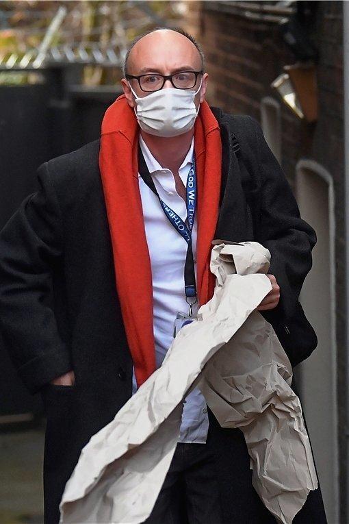 Dominic Cummings - Berater des britischen Premiers Johnson