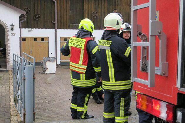 Waschmaschinenbrand in Pöhla