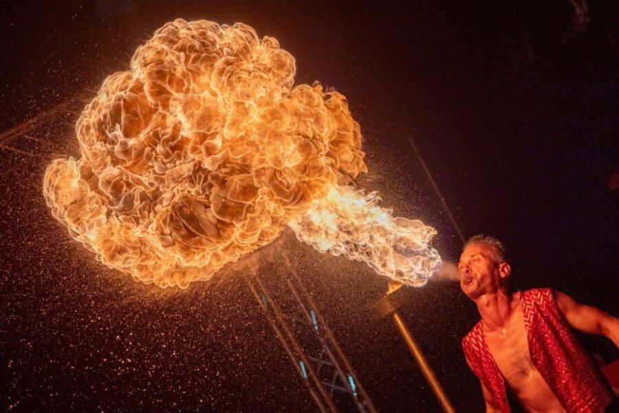 Circus Baroness gibt sich noch bis Sonntag in Reichenbach die Ehre