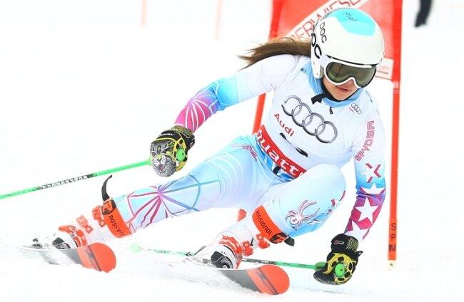 Lynn Fischer startet offiziell für den Einsiedler Skiverein.
