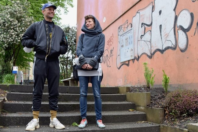 """Philipp Röding und Daniela Weiss haben sechs Wochen als """"Artists in Residence"""" in Chemnitz gearbeitet."""