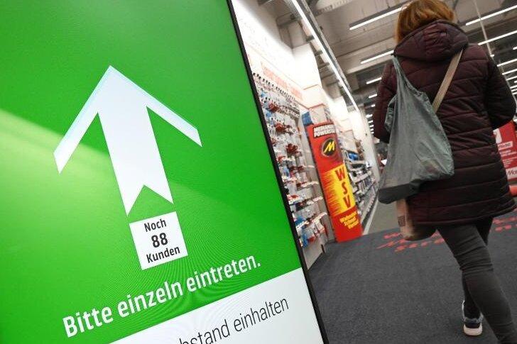 Corona-Lage in Chemnitz: Erste Geschäfte und Museen sollen am Dienstag öffnen