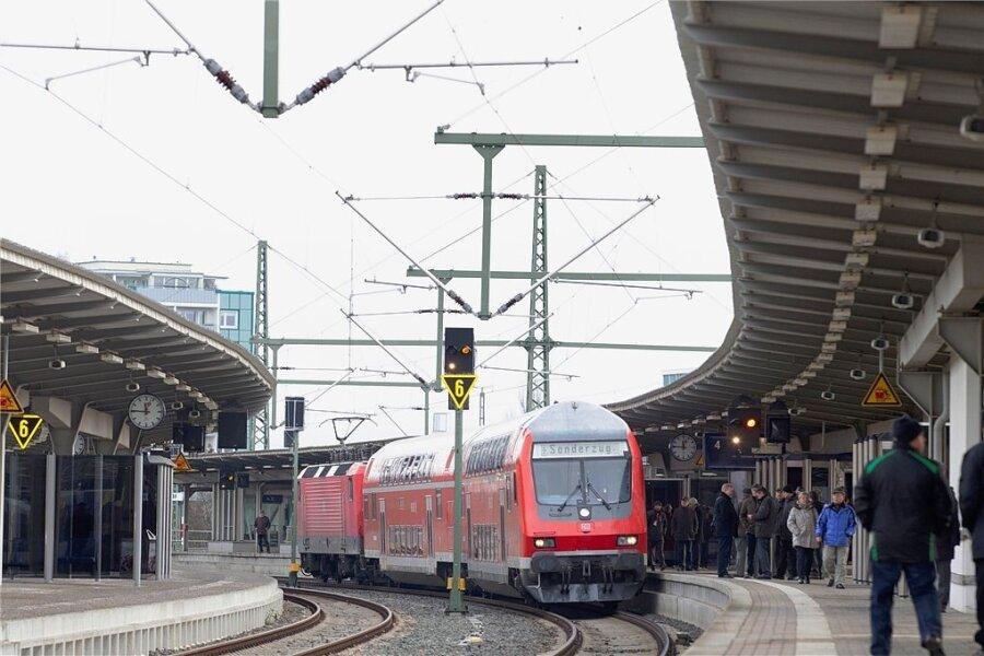 Mit Bauarbeiten im Bereich des Oberen Bahnhofes in Plauen geht es Anfang Juli los.