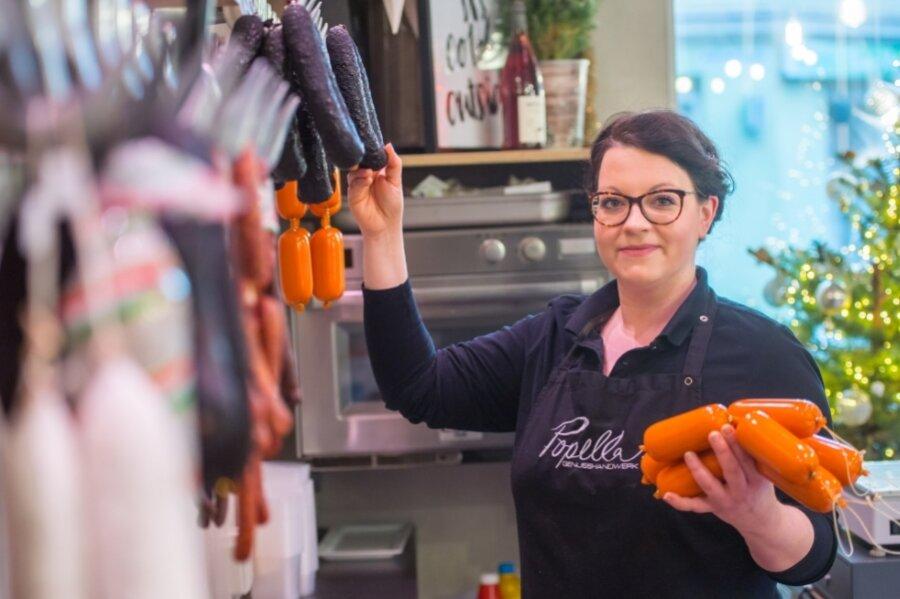 Christin Popella ist als Jungunternehmerin des Jahres 2019 in Aue ausgezeichnet worden.