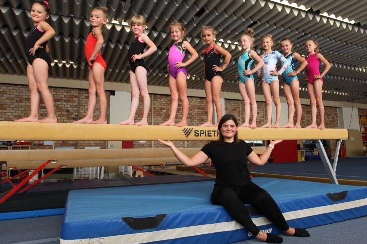 Regionaltrainerin Jana Brauße und einige ihrer Schützlinge würden sich über eine rege Beteiligung beim Schnuppertraining freuen.