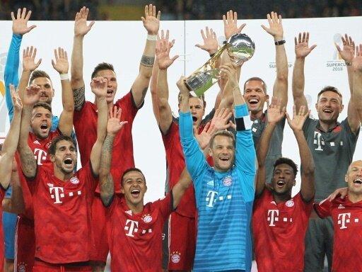 Supercup: 5,44 Millionen Zuschauer sehen Bayern-Sieg