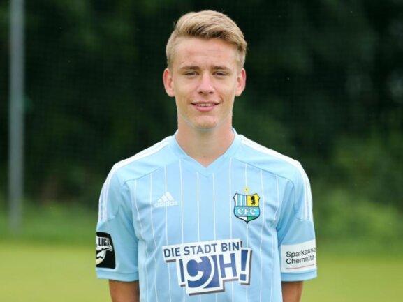 Florian Hansch vom Chemnitzer FC wird fortan für den SV Sandhausen spielen.