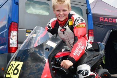Ben Wiegner, der in wenigen Tagen zwölf Jahre alt wird, möchte nächstes Jahr im Northern Talent Cup starten.