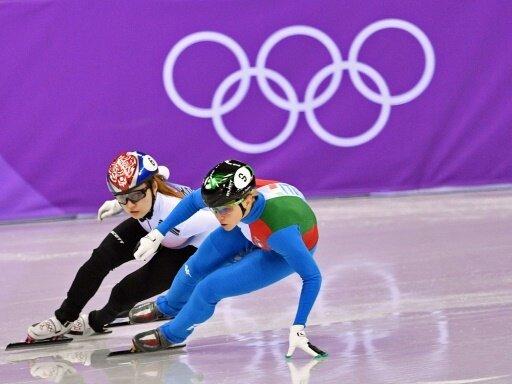 Arianna Fontana (v.) gewinnt Gold im Finale über 500 m