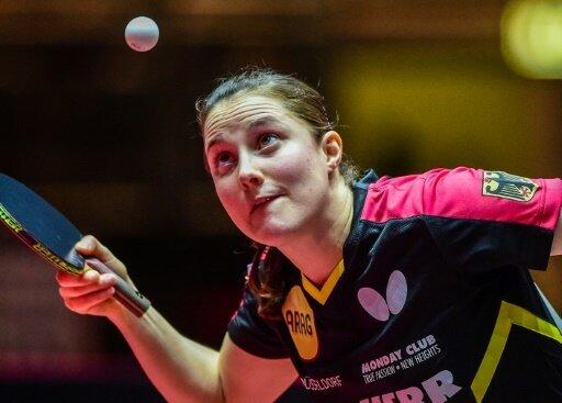 Sabine Winter steht im Achtelfinale der Tischtennis-EM