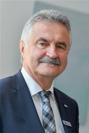 Hans-Joachim Wunderlich - Hauptgeschäftsführer der IHK Chemnitz