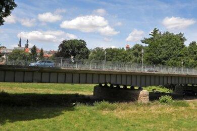 Die Muldenbrücke in Waldenburg wurde 1938 gebaut.