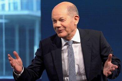 Olaf Scholz, Kanzlerkandidat der SPD.