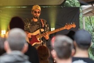 Auf dem Festival spielte auch die Band Goldbrasse.