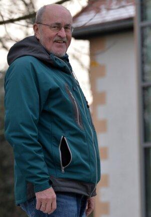 Seit 7. Juni 1990 ununterbrochen im Amt, geht CDU-Bürgermeister Werner Schubert nach 30 Dienstjahren in den Ruhestand. Sein Herzensprojekt ist der Fahrstuhl am Mayoratsgut Großhartmannsdorf.