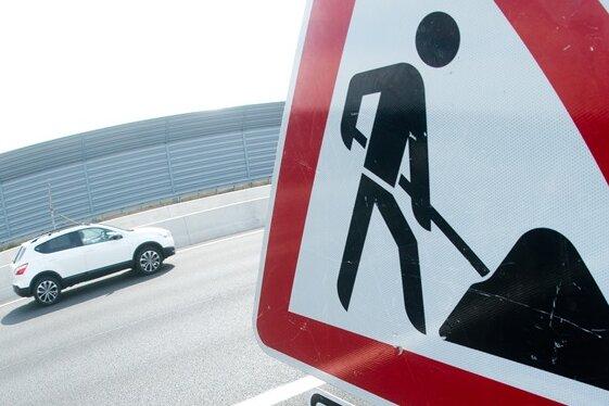 An diesen Straßen in Mittelsachsen wird gebaut