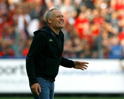 Niederlage für den SC Freiburg und Trainer Streich