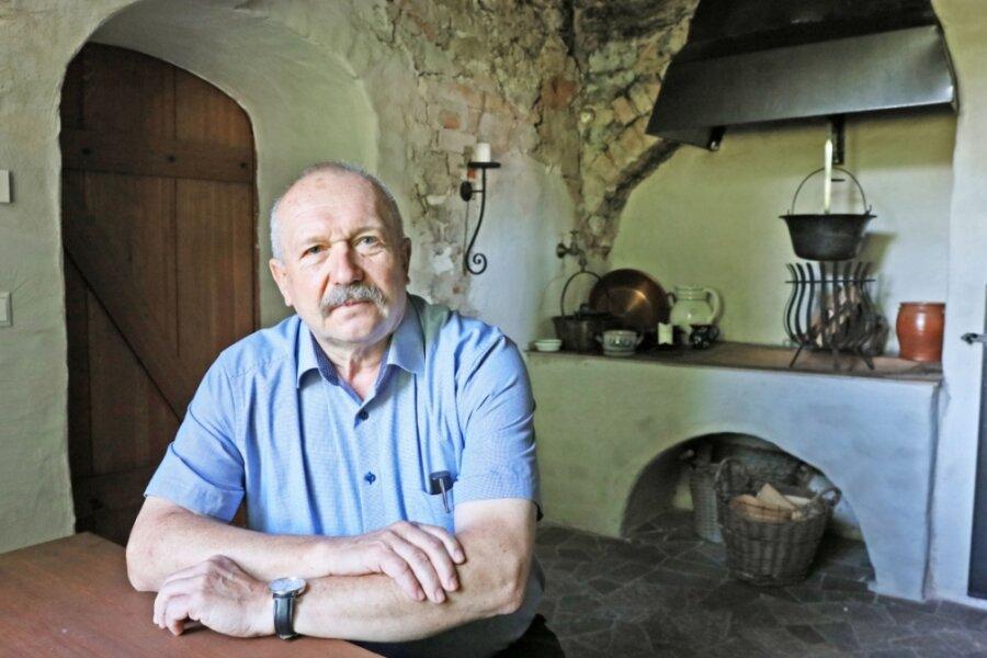 Bewegte Jahre liegen hinter dem Vorsitzenden des Heimatvereins Herrenhaus Michael Hahn.