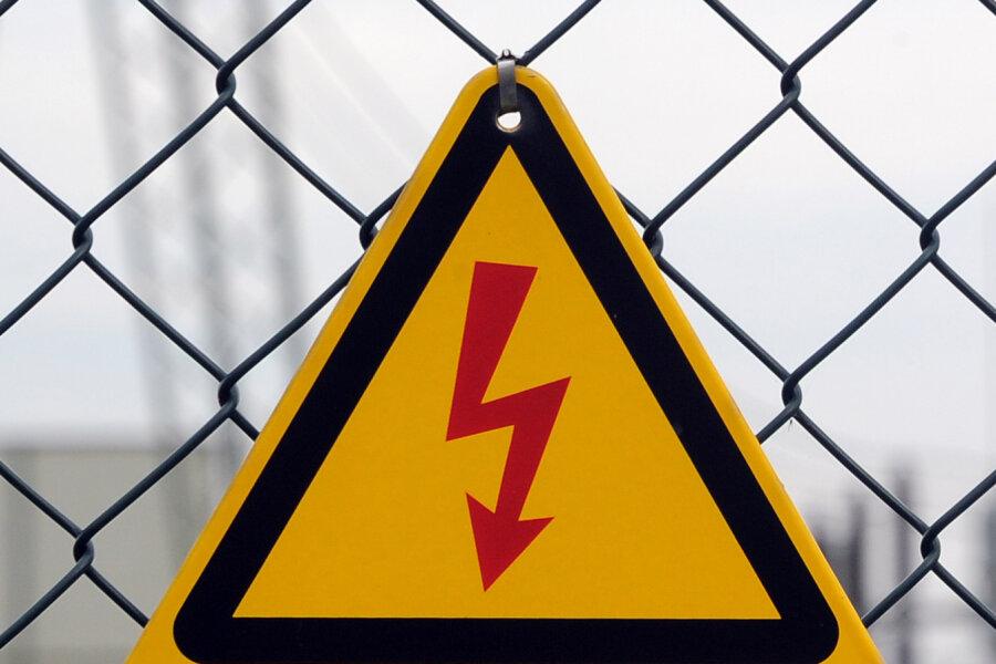 Nach Herbststurm: Stromleitungen in Mittelsachsen werden repariert