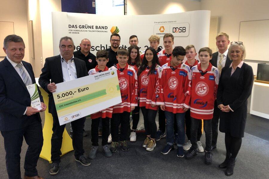 """ETC-Talente freuen sich über """"Grünes Band"""" und 5000 Euro"""