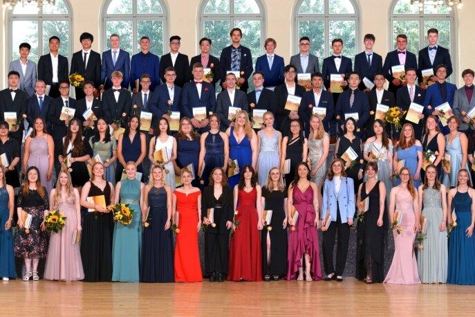 Abi in der Tasche: Fototermin für Waldenburger Gymnasiasten