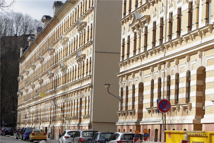 Die Hainstraße in Plauen.