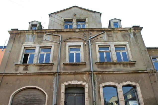 """Das ehemalige Gasthaus """"Zur Krone"""" verschwindet aus dem Ortsbild."""