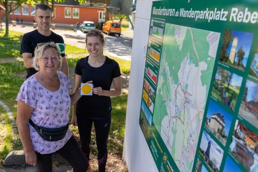 Startklar in Rebesgrün: Drei Touren ab Wanderparkplatz markiert