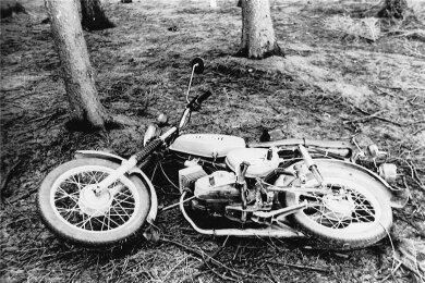 Mit diesem Simson-Moped war das Opfer unterwegs.