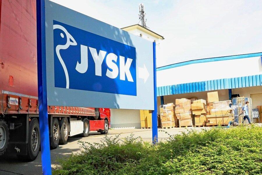Aus Dänischem Bettenlager in Werdau wird Jysk