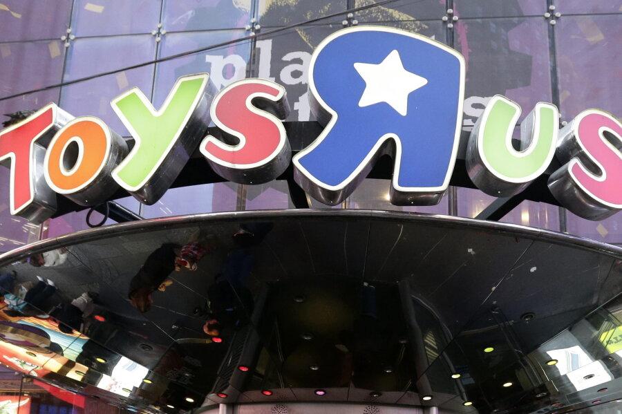Eine Filiale des Spielzeughändlers Toys 'R' Us auf dem Times Square in New York.