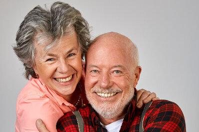 Bill Mockridge & Margie Kinsky sind froh: Hurra, wir lieben noch! (23.02.)