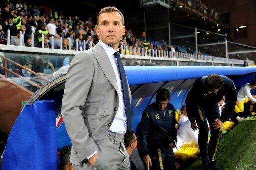 Aufstieg in Liga A: Ukraine-Trainer Andrij Schewtschenko