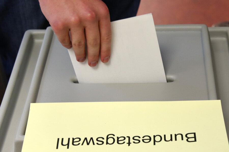 Bundestagswahl: Vier Partei-Landeslisten in Sachsen nicht zugelassen
