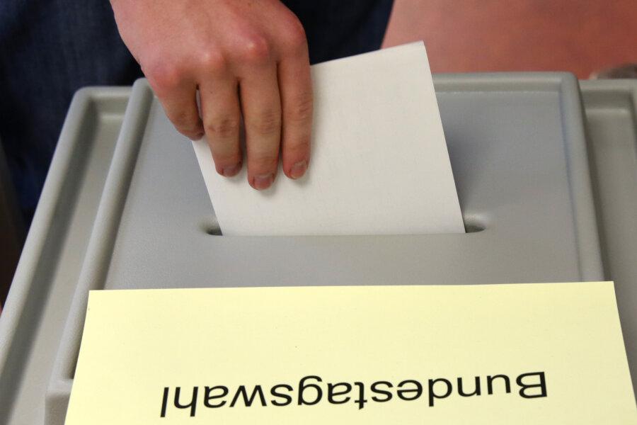 Bundestagswahl: Vier Partei-Listen in Sachsen nicht zugelassen