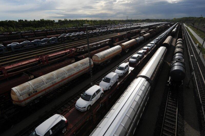 Der Güterverkehr steht bereits seit gestern Nachmittag.