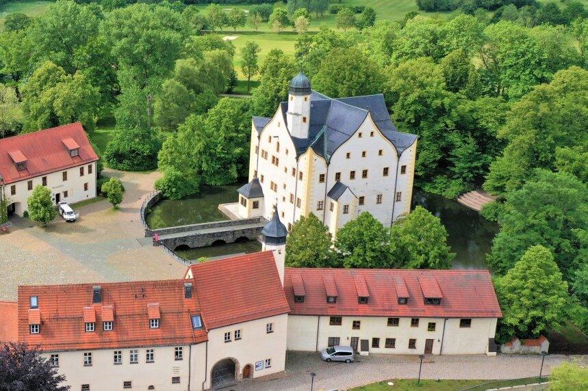 Romantik und Genuss am Rande von Chemnitz: das Wasserschloss Klaffenbach
