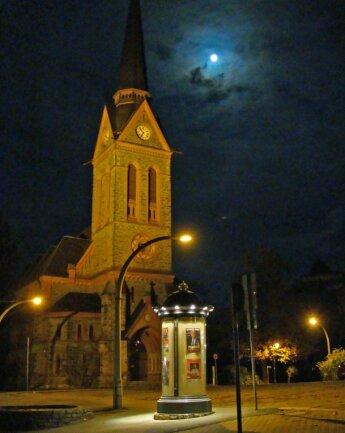 Trotz Kritik: In der Trinitatiskirche Bad Elster werden am 24. Dezember drei Gottesdienste nacheinander stattfinden.