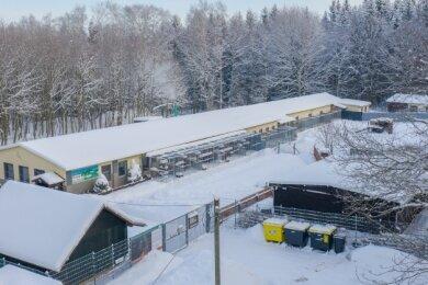 """Baufällig: Das Annaberg-Buchholzer Tierheim """"Neu Amerika"""" braucht eine Generalüberholung."""