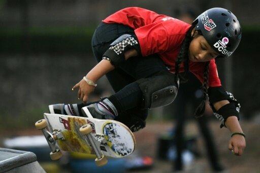 Mit neun Jahren bei den Asienspielen: Aliqqa Noverry