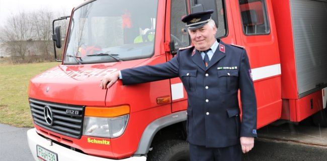 Bernd Ranft engagiert sich seit Jahren in der Feuerwehr, war unter anderem 25 Jahre Leiter der Ortswehr Großwaltersdorf.