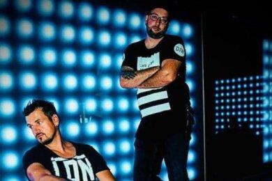 Rico Einenkel (vorn) und Sebastian Seidel sind bei Universal unter Vertrag. Im kommenden Jahr erscheint ihr drittes Album.